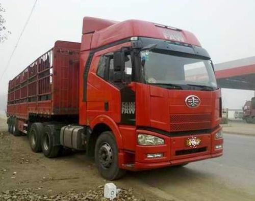 沐阳物流公司半挂货车